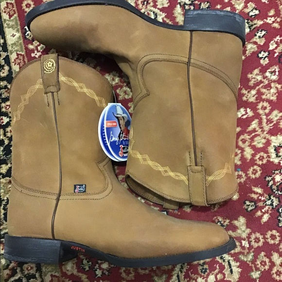 d365c8dd702 Justin GEORGE STRAIT cotulla serie boots NWT NWT